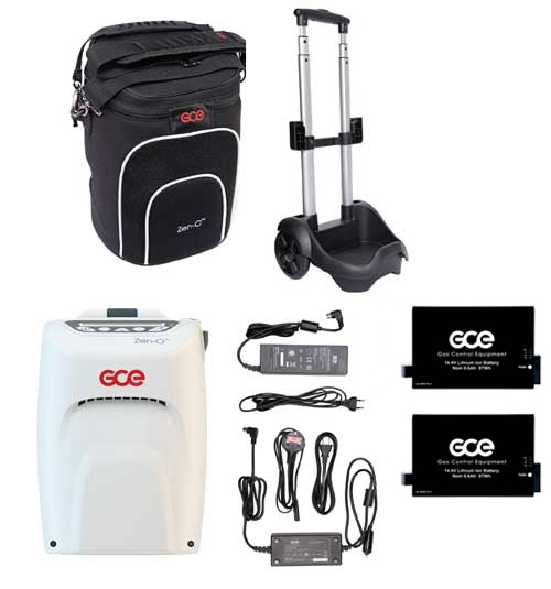 Concentrator de Oxigen portabil ZEN-O (2 baterii) 4